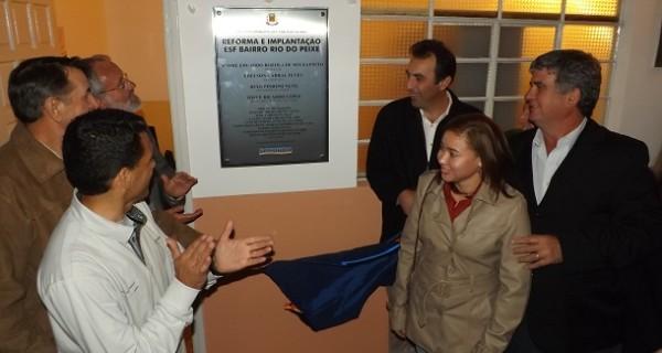 Prefeitura reabriu postos de saúde do Rio do Peixe e Moraes