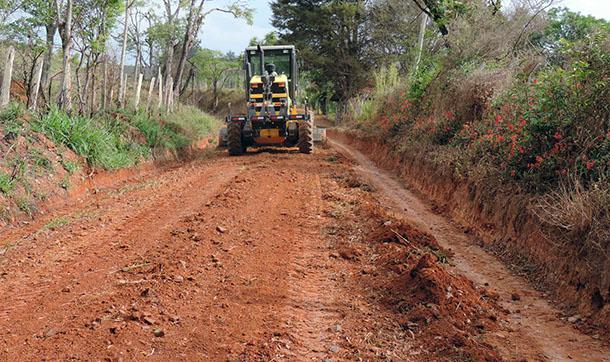Obras Estradas Rurais Socorro