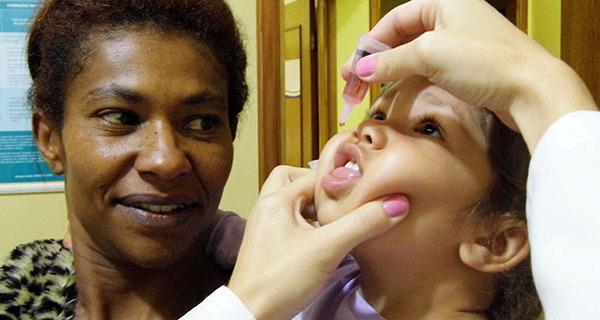Campanha Nacional de Vacinação contra poliomielite e sarampo segue até dia 28