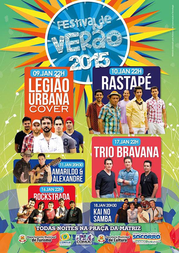 Festival de Verão 2015 - Socorro - SP