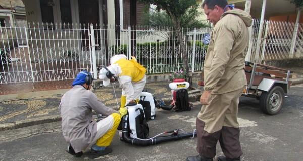 Prefeitura e SUCEN realizam nebulização contra mosquito da dengue