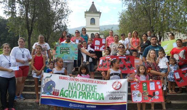 Famílias da zona rural também se mobilizaram na campanha contra a dengue