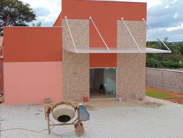 Unidade de saúde no bairro do Salto em fase final de construção. Inauguração em breve.