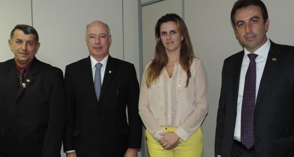 Prefeito André Bozola visita três ministérios em busca de recursos para Socorro
