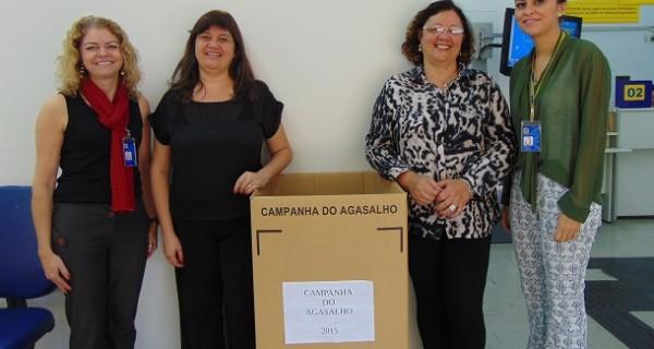 Fundo Social recebe doação de roupas arrecadadas pelo Banco do Brasil