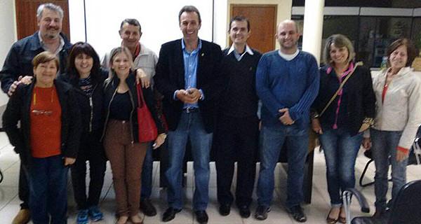 Prefeito André Bozola participa de reunião sobre obras na Avenida Coronel Germano