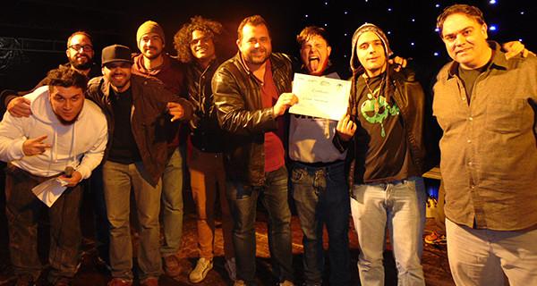 Cidade Fantasma foi a campeã do Festival Rock de Socorro 2015