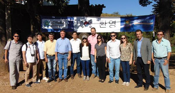 Comitiva sul-coreana visita Socorro para conhecer Ecoponto