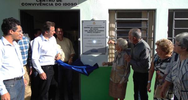 Prefeitura realiza cerimônias de nomeação do corredor turístico do Rio do Peixe e Centro de Convivência do Idoso