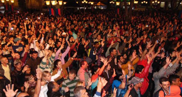 Estilos variados agradaram a todos os públicos na Festa de Agosto