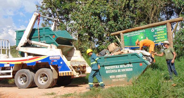 Coleta de lixo é alterada em Socorro