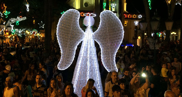 Grande público compareceu ao acender das Luzes de Natal