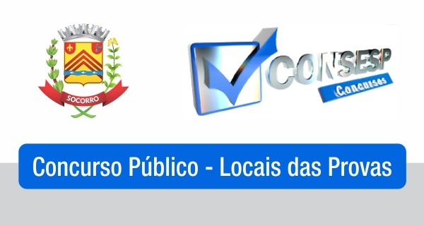 Confira os horários e locais das provas do concurso público