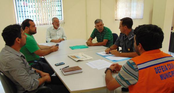 Reunião na Prefeitura define ações para a segurança durante o Carnaval