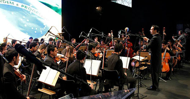 Apresentação da Orquestra Filarmônica do Senai SP