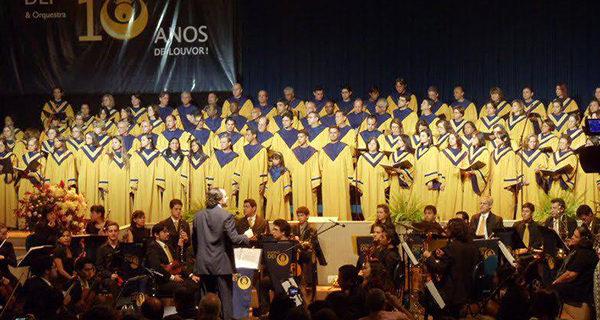 Coral e Orquestra Chorus Dei se apresenta neste sábado no Auditório da Prefeitura