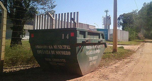 Prefeitura informa nova localização das caçambas de lixo do Livramento, Farias e Cardosos
