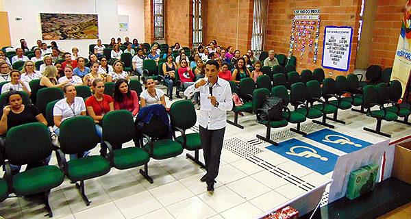 Colabores da Saúde participam de palestras de capacitação na 2ª Semana de Saúde