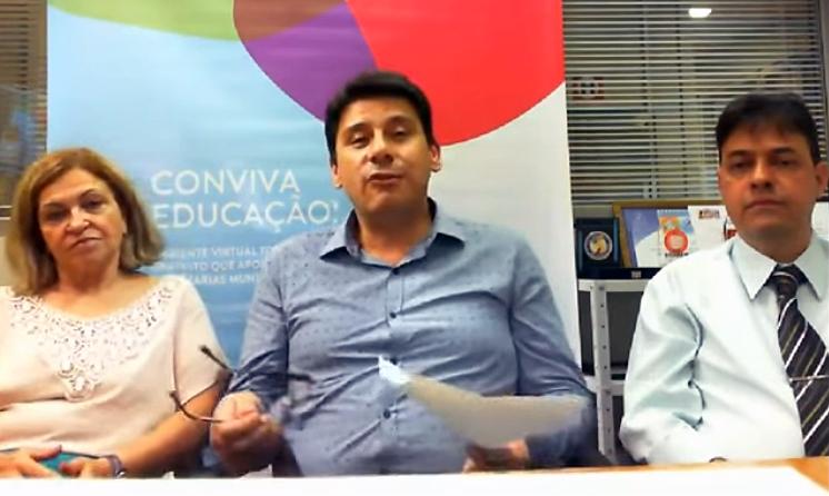 Secretária Célia participa de videoconferência