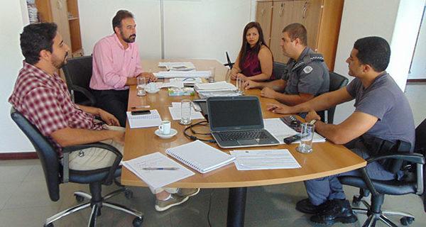 Segurança Pública foi tema de reunião entre Prefeitura e forças policiais