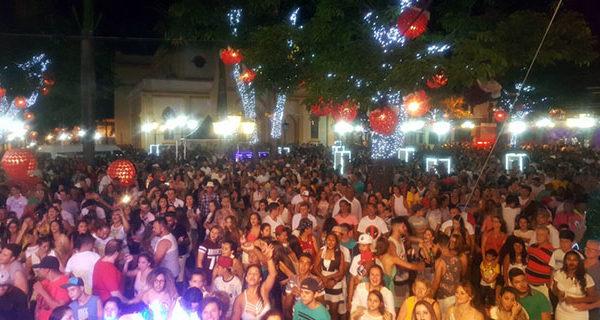 Reveillon na Praça da Matriz registrou público recorde
