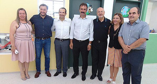 Secretário Estadual de Educação visita nova unidade da Creche Escola em Socorro