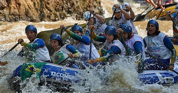 Etapa do Campeonato Brasileiro de Rafting será disputada em Socorro
