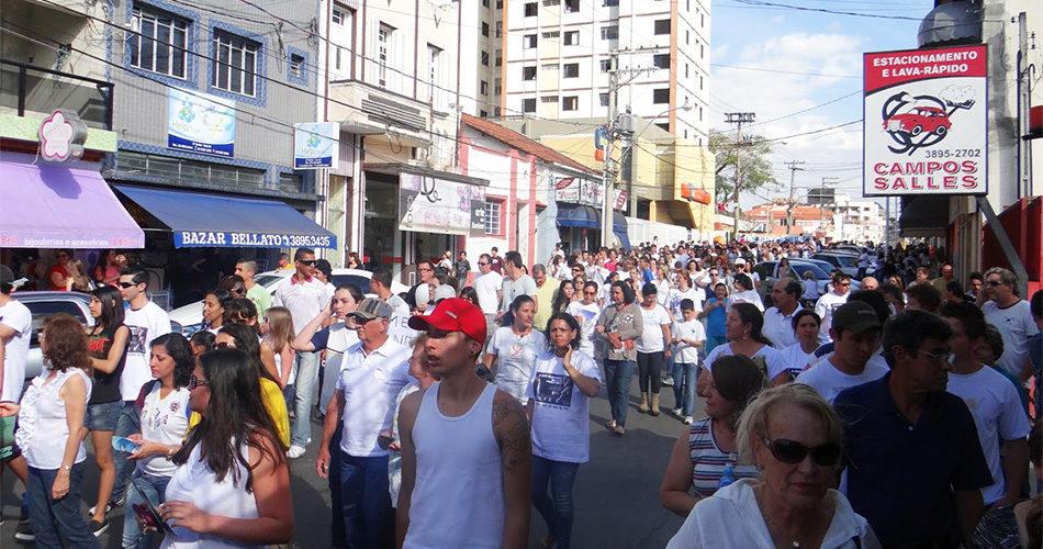 Caminhada e passeio ciclístico acontecem dia 6 pelas ruas de Socorro
