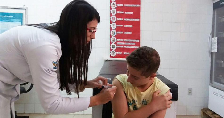 Secretaria de Saúde intensifica campanha de vacinação contra HPV, meningite e hepatite B