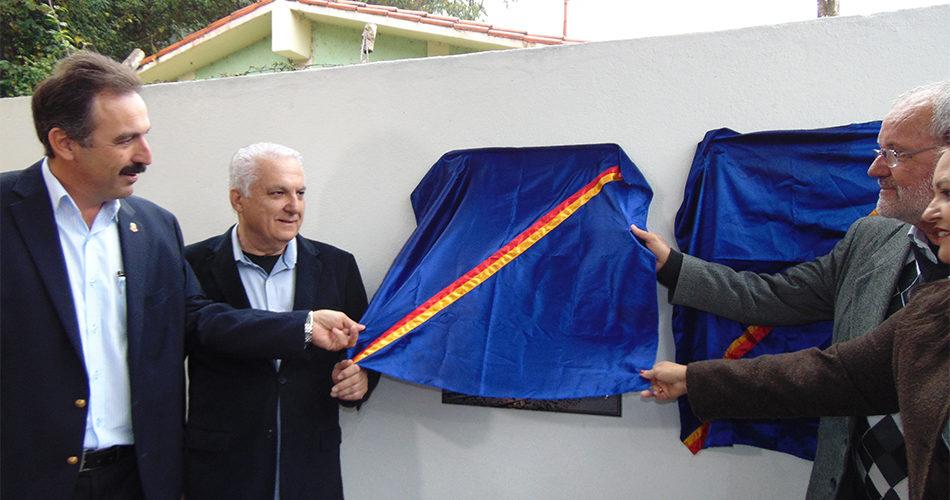 Espaço da Locomotiva 208 e quadra poliesportiva são oficialmente inaugurados
