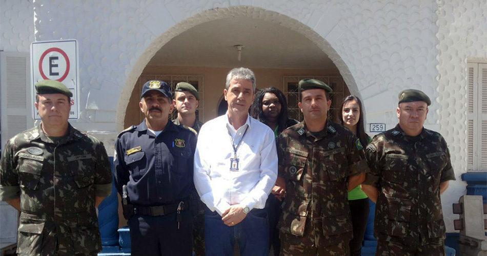 Junta de Serviço Militar de Socorro passa com êxito por correição