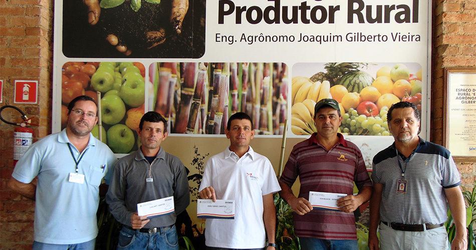 Primeiras análises de solo são entregues a produtores rurais
