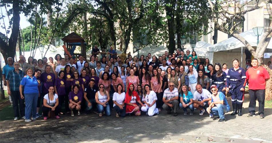 Feira da Saúde reúne mais de 500 pessoas na Praça 9 de Julho