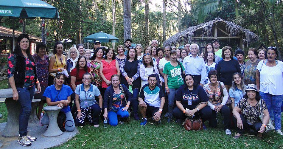 Pacientes atendidos pela ESF do Jardim Araújo visitam hotel-fazenda com o projeto Redescobrindo Socorro