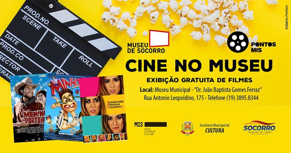 Secretaria de Cultura e Museu da Imagem e do Som apresentam filmes nacionais em Socorro