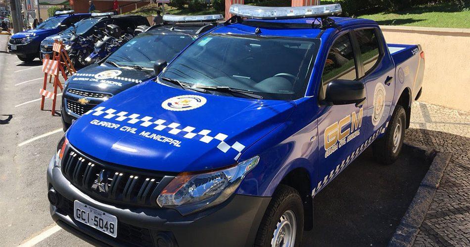 Prefeitura adquire mais oito viaturas para a Guarda Municipal