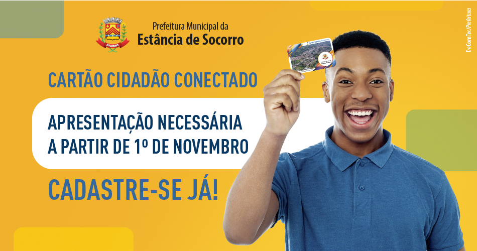 Cartão Cidadão é prorrogado para 1º de novembro