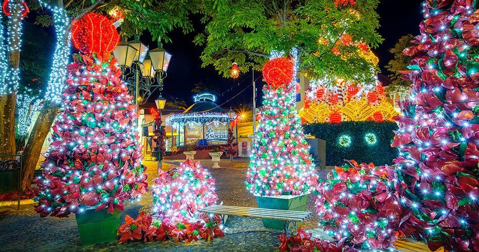 Socorro Luzes de Natal 2018 começa no dia 1º de dezembro