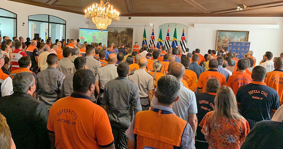 Defesa Civil de Socorro participa de seminário no Palácio dos Bandeirantes