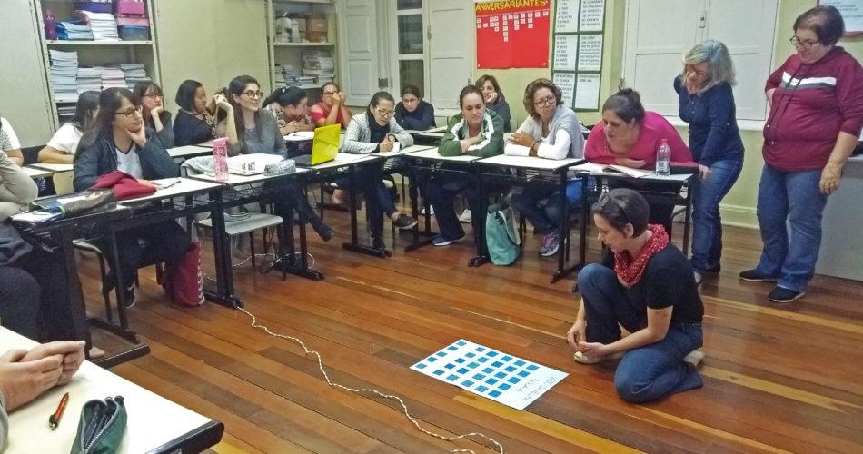 Professores da Rede Municipal de Ensino participam de formação