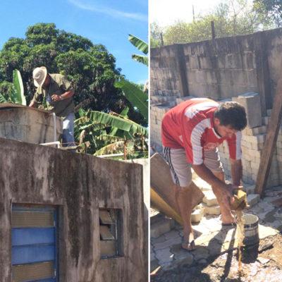 Vigilância em Saúde realiza limpeza de possíveis locais de proliferação do mosquito transmissor da dengue