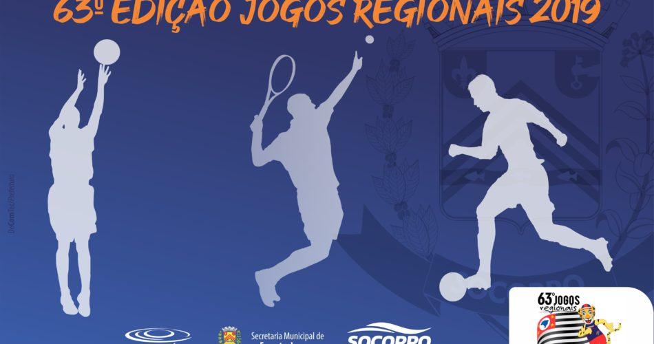 Socorro participará da 63º edição Jogos Regionais 2019 na cidade de Americana