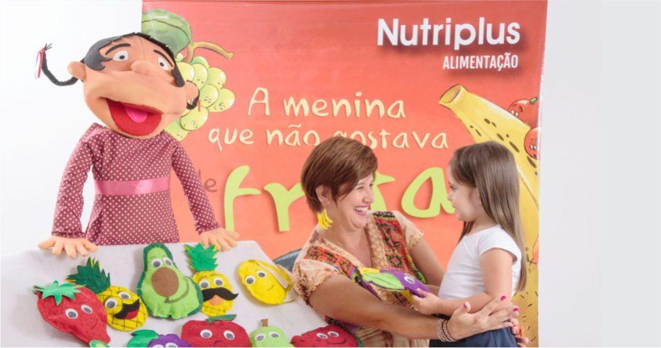 Secretaria de Educação e Nutriplus realiza projeto de educação alimentar com as creches municipais