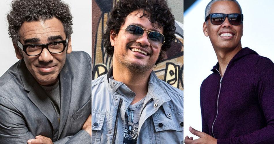 Os Filhos dos Caras: Simoninha, Léo Maia e Max Viana se apresentam hoje em Socorro