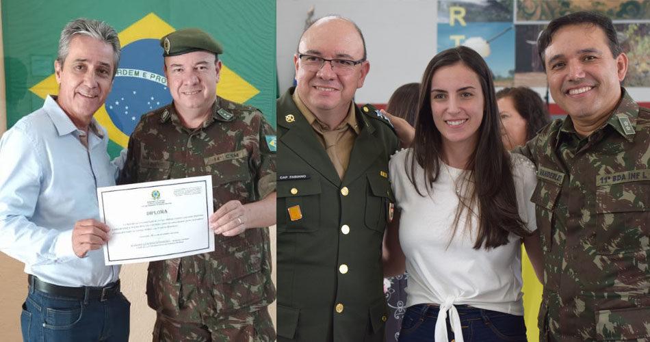 Exército Brasileiro agradece colaboração da Prefeitura de Socorro ao serviço da Junta Militar