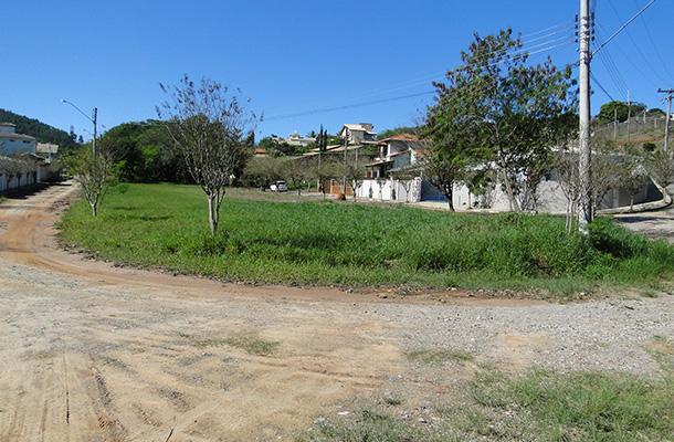 Local onde será construída a Praça Antonio Ferreira Barbosa